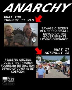 Anarchy - what you thought it was and what it is.