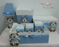 Kit Higiene Ursinho Príncipe