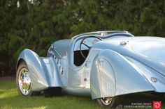 1938 Peugeot 402 Darl'Mat Roadster by Pourtout.