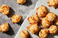 Ginger-Coconut Macaroons Recipe on Yummy Treats, Sweet Treats, Cookie Table, Macaroon Recipes, Party Dishes, Coconut Macaroons, Jamaican Recipes, Sweet And Spicy, Food 52