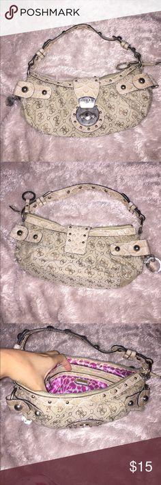 Purse Tan guess shoulder purse G by Guess Bags Shoulder Bags