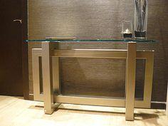 Mesa consola / rectangular / de interior / de exterior THASOS GONZALO DE SALAS