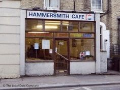Fab authentic Thai Food apparently - The Hammersmith Cafe, 1 Studland Street, London - Cafes, Snack Shops & Tea Rooms near Ravenscourt Park Tube Station London Cafe, Old London, Authentic Thai Food, Fulham, Old City, Thai Recipes, Childhood Memories, Coffee Shop, Old School