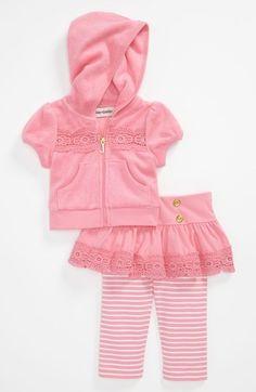 Roxy Hoodie & Skirted Leggings (Infant) | Nordstrom