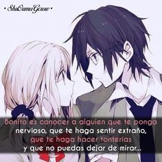 Bonito es conocer #ShuOumaGcrow #Anime #Frases_anime #frases