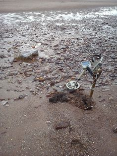 Beach metal detecting secrets - get out there for yourself as you never know when a gully will appear