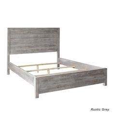 Massivholzbetten rustikal  Rustikaler Nachttisch mit zwei leichtgängigen Schubladen! | Betten ...