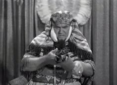 Vernon Dent as King Rootentooten in Mummy's Dummies