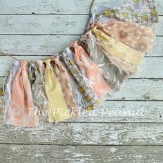 Hey, I found this really awesome Etsy listing at https://www.etsy.com/listing/236408770/pink-gray-yellow-birthday-banner-shabby