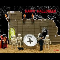 Halloween clickero 1 #Halloween #quemegustaunclick #clickmania #click #playmobil #playmofigures #toyplanet #toyphotography #mylife #playmoarte #playmoart #playmobilolove
