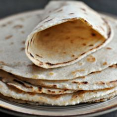 These paleo and vegan tortillas are super easy to make.