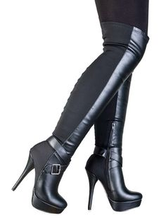 My1stWish 66C Over The Knee Boots .  Price: $56.95 .  Click to Purchase: http://amzn.to/U0pf0X
