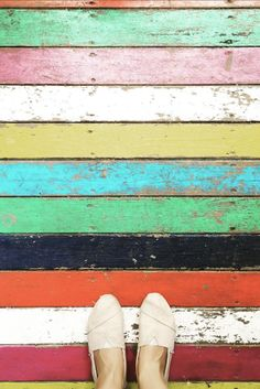 Lead a colorful life in your TOMS Shoes. Photo by: Sandra Kisić