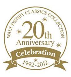 WDCC 20th Anniversary logo