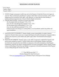 notice of intent to enter rental unit pdf property management