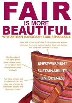 Fair Trade is beautiful - why artisan handicrafts are remarkable