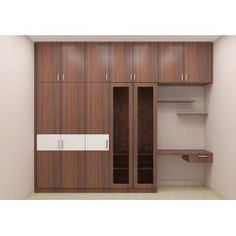 modular wardrobe with double color combination made up of plywood rh pinterest com