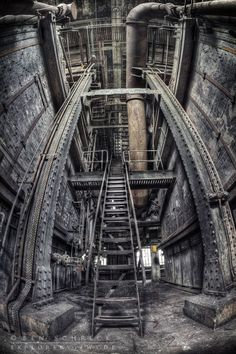 Abandoned Industry   Urban Exploration   Beauty of Decay   Lost Places