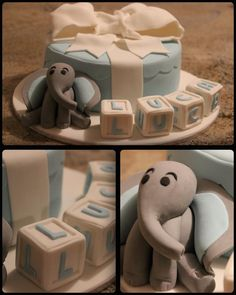 Little boys christening cake Baby Cakes, Baby Shower Cakes, Cupcake Cakes, Cupcakes, Baptism Party, Baptism Ideas, Just Cakes, Cakes And More, Baptismal Cakes