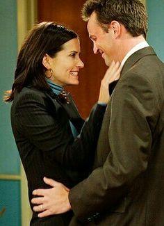 Monica Geller & Chandler Bing (Courteney & Mattew) By: sam