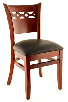 Premium Venice Series Wood Chair - Made in the USA