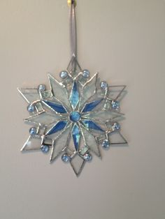snowflake 1 w/blue accents