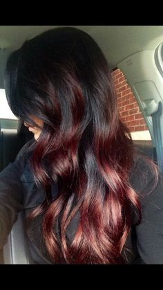 My next move ... great for dark hair :))