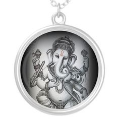 Vighnaharta (Ganesha) Necklace by lolly2560