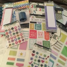 """My order from Create 365 """"The Happy Planner"""" arrived today!"""