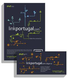 ANA Airports - B2B Integrated Campaign by Hugo Serôdio, via Behance