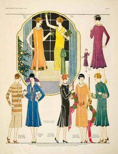 Butterick Art Deco Fashion