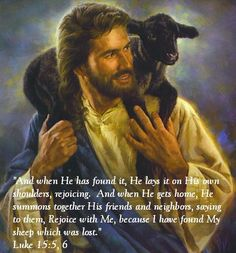 He will always find us and rescue us.