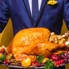 Best Turkey From Turkey Breast With Roasted Broccolini Recipe on ...