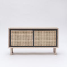 Colonel creates a useful sideboard which revisits the ancestral technique of cane weaving in a more current version. Decoration and contemporary furniture in Paris. Contemporary Stairs, Contemporary Office, Contemporary Home Decor, Contemporary Design, Contemporary Apartment, Contemporary Building, Contemporary Chandelier, Contemporary Landscape, Contemporary Architecture