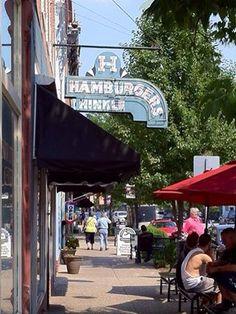 Hinkle's Hamburgers-Madison Indiana. A family favorite ;•)