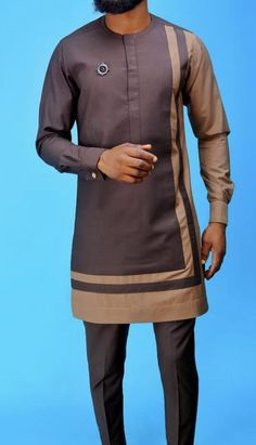 - Source by - African Wear Styles For Men, African Shirts For Men, African Attire For Men, African Clothing For Men, Couples African Outfits, African Dresses Men, Latest African Fashion Dresses, Nigerian Men Fashion, Indian Men Fashion