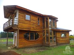 Una casa de madera en Chillán que se inspira en las vueltas del remolino (De Jorge Gonzalez)