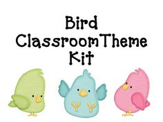This HUGE kit is designed for anyone who adores modern designs and would like to implement a Bird theme in their classroom!  This 100 page kit incl...