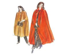 Your place to buy and sell all things handmade Cape Pattern, Burda Patterns, Shirtwaist Dress, Sewing Material, Vintage Love, Vintage Patterns, All Things, Kimono Top, My Etsy Shop