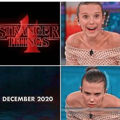 This is how I'm feeling right now😔 Have you seen the Stranger Things 4 Trailer? Stranger Things Brasil, Stranger Things Fotos, Stranger Things Quote, Stranger Things Have Happened, Stranger Things Aesthetic, Eleven Stranger Things, Stranger Things Season, Stranger Things Netflix, Saints Memes
