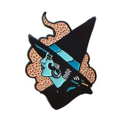 Artist Series #1 The Witch - Enamel Pin - Horror