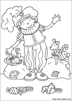 Zwarte Piet, Christmas character coloring page Colouring Pages, Coloring Sheets, Craft Activities For Kids, Toddler Activities, Winter Festival, Christmas Characters, Christmas Coloring Pages, Winter Theme, Christmas Colors
