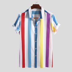 TWO-SIDED Mens Floral Printing Patchwork Ethnic Style Summer Short Sleeve Loose Casual Shirt Best Online - NewChic Mobile Source by guillermoleivar Outfits verano Loose Shirts, Henley Shirts, Mens Printed Shirts, Ethnic Fashion, Men's Fashion, Fashion Shirts, Fashion Outfits, Casual Shirts For Men, Men Casual