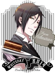 What better way to spend White Day than with your favorite Black Butler characters? Check out more illustrations on http://funimation.com/blog!
