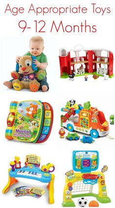 Development & Top Baby Toys for Ages 9-12 Months