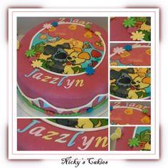 Woezel en Pip taart #woezelenpip #taart #cake