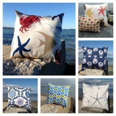 Pillow shams for you beach house.  www.facebook.com/SeaCoastchic