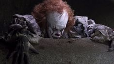 Pennywise stuff I guess? Steven King, Ninja Art, Pennywise The Dancing Clown, Clown Mask, Clowning Around, Gaara, New Movies, Horror Movies, Thriller