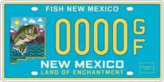 1000 images about fishy license plates on pinterest for Mexican fishing license