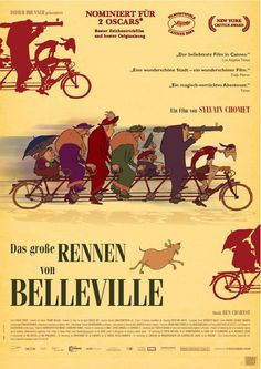 The Triplets of Belleville is a ghastly delight